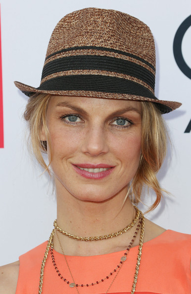 Angela Lindvall Straw Hat