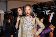 Angela Simmons Dark Lipstick