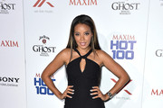 Angela Simmons Little Black Dress