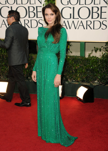Angelina Jolie Evening Dress [green,flooring,carpet,gown,dress,beauty,red carpet,fashion,formal wear,shoulder,evening gown,angelina jolie,dress,red carpet,carpet,gown,sleeve,flooring,hotel,golden globe awards,angelina jolie,68th golden globe awards,hollywood,green versace dress of jennifer lopez,dress,golden globe award,clothing,evening gown,sleeve,red carpet]
