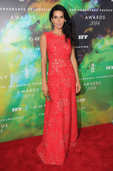 Angie Harmon Evening Dress