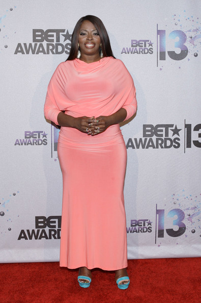 Angie Stone Evening Dress