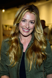 As always, Cat Deeley's golden waves looked pretty enough for a shampoo commercial!