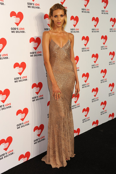 Anja Rubik Evening Dress