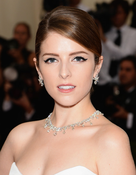 Anna Kendrick Diamond Collar Necklace