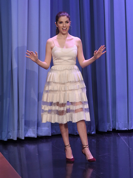 Anna Kendrick Evening Pumps