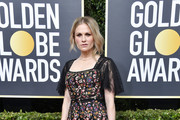 Anna Paquin Embroidered Dress