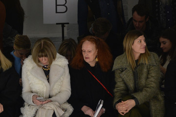 Anna Wintour Grace Coddington Rodarte - Front Row - Mercedes-Benz Fashion Week Fall 2015