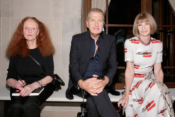 Anna Wintour Grace Coddington Carolina Herrera - Front Row - Spring 2016 New York Fashion Week