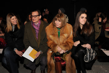 Anna Wintour Hamish Bowles Thakoon - Front Row - Mercedes-Benz Fashion Week Fall 2015