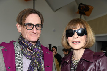 Anna Wintour Hamish Bowles Chloe : Front Row - Paris Fashion Week Womenswear Fall/Winter 2018/2019