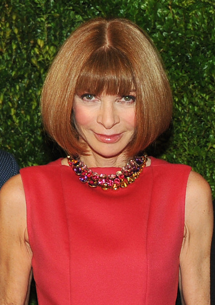 Anna Wintour Bob [in vogue: the editors eye screening at the met,in vogue: the editors eye,hair,hairstyle,human hair color,bangs,fashion model,blond,beauty,chin,layered hair,hair coloring,anna wintour,new york city,hbo,metropolitan museum of art,screening]