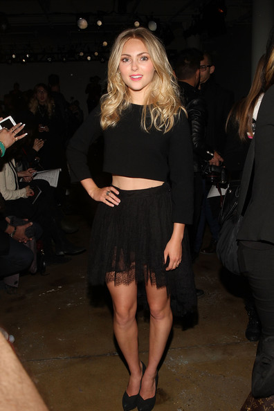 AnnaSophia Robb Mini Skirt