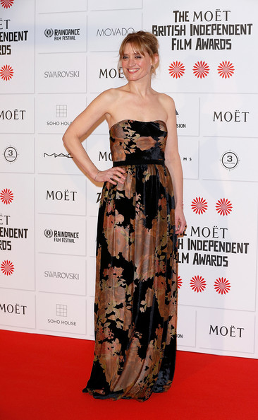 Anne-Marie Duff Strapless Dress