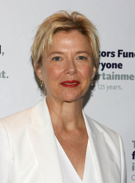 Annette Bening Boy Cut [responding to essential and evolving needs,hair,chin,blond,white-collar worker,official,smile,annette bening,actors fund launches,the actors fund,regency hotel,new york city,launch,campaign]