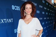 Annie Wersching Strappy Sandals
