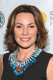 LuAnn de Lesseps styled her hair into a layered razor cut for the Gold Coast International Film Festival.