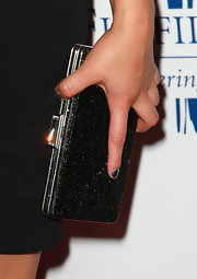 Jenna topped off her amazing look with a sparkling box clutch. It was just the right amount of sparkle her look needed.