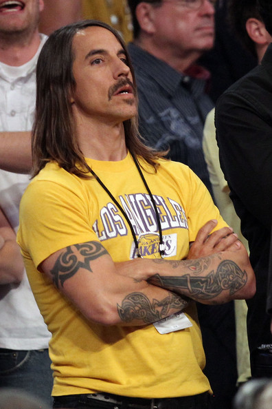 Anthony Kiedis Body Art