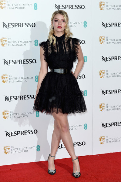 Anya Taylor-Joy Lace Dress