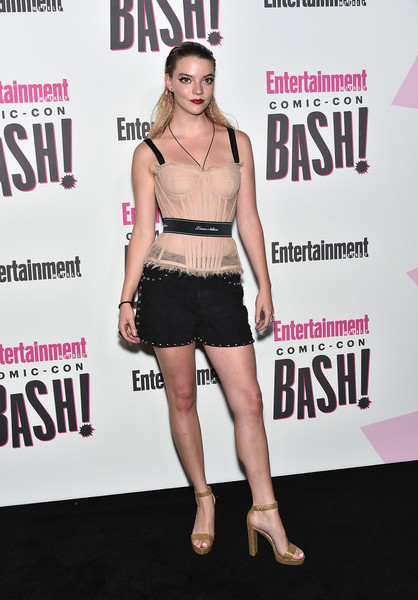 Anya Taylor-Joy Platform Sandals [entertainment weekly hosts its annual comic-con party at float at the hard rock hotel,san diego in celebration of comic-con 2018 - arrivals,clothing,fashion,dress,premiere,footwear,leg,muscle,fashion model,carpet,event,anya taylor-joy,float,san diego,california,hard rock hotel,entertainment weekly,hbo,comic-con bash]