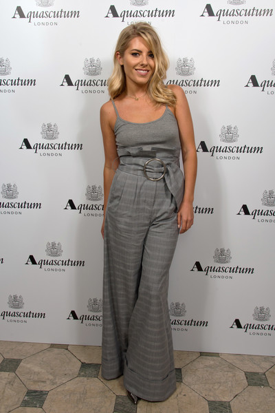 Mollie King at Aquascutum