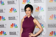 Archie Panjabi Evening Dress