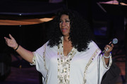 Aretha Franklin Beaded Dress