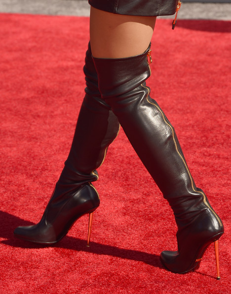 More Pics Of Ariana Grande Over The Knee Boots 13 Of 41