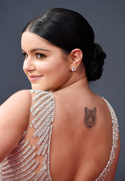 Ariel Winter Twisted Bun