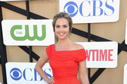 Arielle Kebbel Off-the-Shoulder Dress