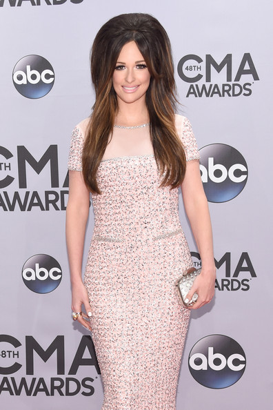 More Pics of Kacey Musgraves Teased (1 of 9) - Kacey Musgraves Lookbook - StyleBistro [clothing,dress,shoulder,cocktail dress,red carpet,carpet,hairstyle,joint,long hair,fashion,cma awards,bridgestone arena,nashville,tennessee,arrivals,kacey musgraves]