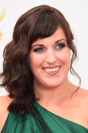 Allison Tolman was all glammed up with a wavy side sweep during the Emmys.