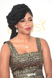 Jessica Williams attended the Emmys wearing layers and layers of dreadlocks.