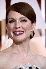 Julianne Moore was a classic beauty at the Oscars with her side-parted chignon.