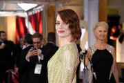 Actress Emma Stone attends the 87th Annual Academy Awards at Hollywood & Highland Center on February 22, 2015 in Hollywood, California.