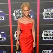 Kimberly Shalpan in Red at the CMT Music Awards