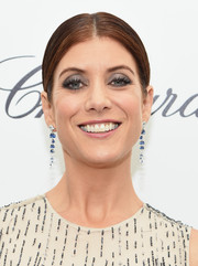Kate Walsh kept it low-key with this center-parted ponytail during Elton John's Oscar-viewing party.