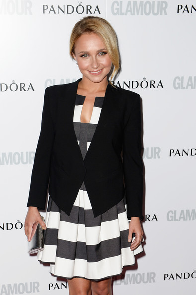 More Pics of Hayden Panettiere Bobby Pinned updo (1 of 7) - Updos Lookbook - StyleBistro