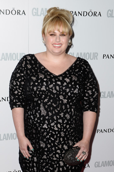 More Pics of Rebel Wilson Bobby Pinned updo (1 of 5) - Rebel Wilson Lookbook - StyleBistro