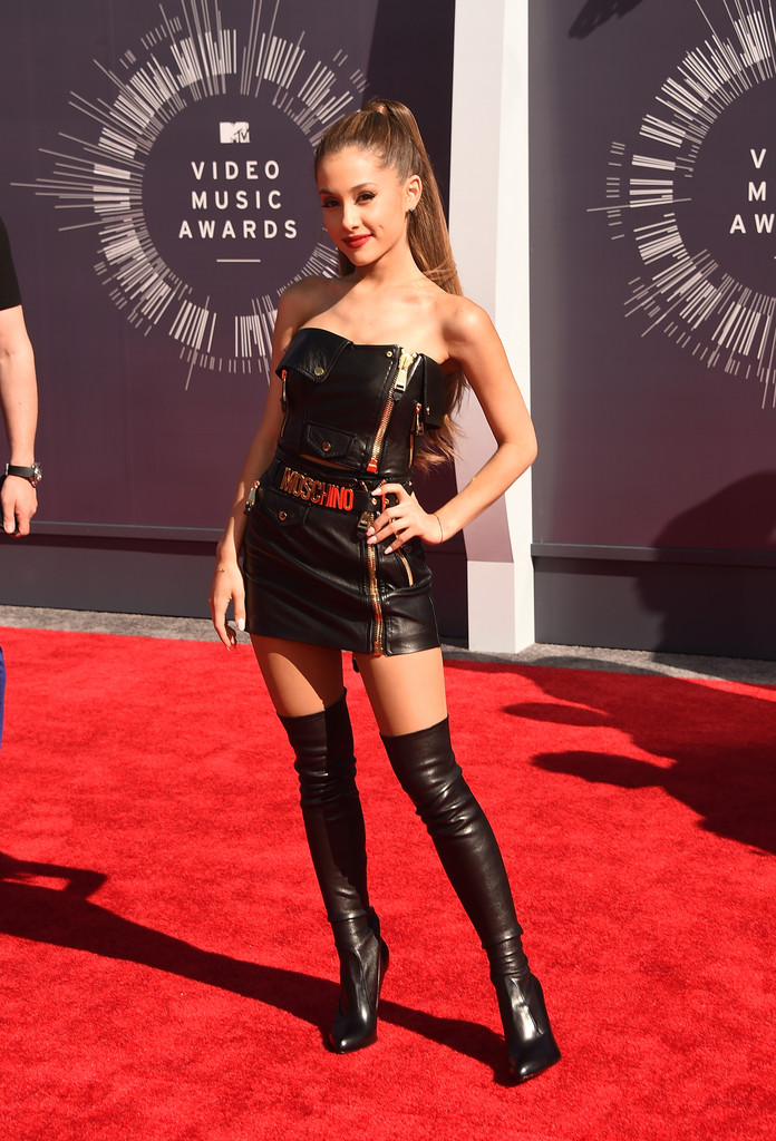 More Pics Of Ariana Grande Over The Knee Boots 21 Of 41