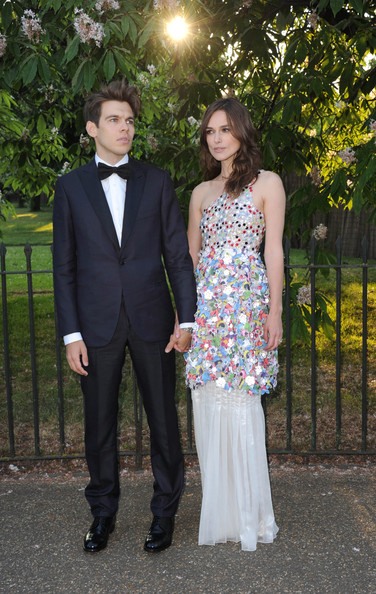 Keira Knightley at the 2014 Serpentine Galley Summer Party