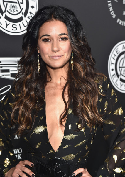 Emmanuelle Chriqui's Luxuriant Curls