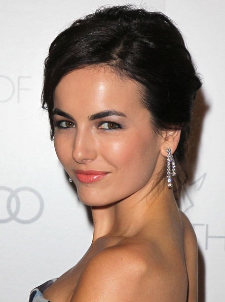 More Pics of Camilla Belle Messy Updo (3 of 15) - Camilla Belle Lookbook - StyleBistro