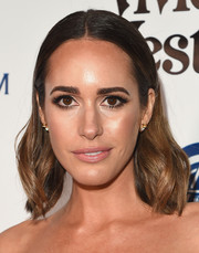 Louise Roe attended the Heaven Gala wearing a subtly wavy, slicked-down 'do.