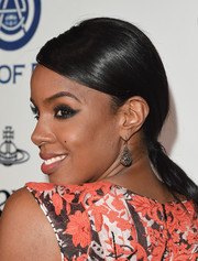 Kelly Rowland attended the Heaven Gala sporting a sleek ponytail.