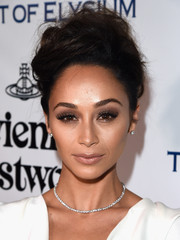 Cara Santana sported this teased updo at the Heaven Gala. Messy has never looked this elegant!