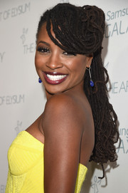 Shanola Hampton attended the Art of Elysium Heaven Gala sporting a full head of dreadlocks.