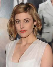 Greta Gerwig attended the 'Arthur' New York premiere wearing a retro-chic short wavy 'do.