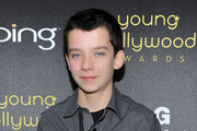 Asa Butterfield Zip-up Jacket